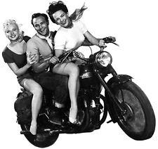 Marlon Brando And Ladies Wild One T Shirt . 12 Sizes. Motorcycle Movie Star Gift