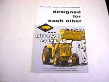 Massey Harris Ferguson Work Bulls Tractors Sales Brochure