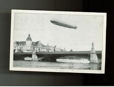 1930 Munster Germany Graf Zeppelin RPPC Cover to Czechoslovakia