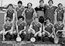ABERDEEN FOOTBALL TEAM PHOTO>1981-82 SEASON