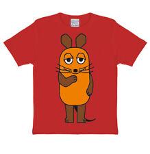 TV - Dessin Animé - La souris souriante - T-shirt enfant - rouge - LOGOSHIRT