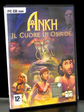 ANKH IL CUORE DI OSIRIDE GIOCO USATO PER PC DVD ROM IN VERSIONE ITALIANA 26128