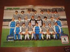 POSTER JUVENTUS 1983/84 PLATINI SCIREA CABRINI BETTEGA