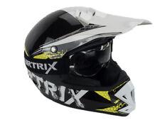 Kinder Motocross Helm Sturzhelm mit Brille getöntes Visier Airtrix Kid-Star