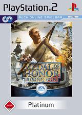 Medal of Honor: Rising Sun platinum ps2 playstation 2 USK 18