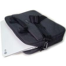 New Gray Classic briefcase Messenger Shoulder Bag 14inch Laptop Bag Book Bag