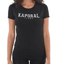 Tee shirt kaporal manches courtes VISA black