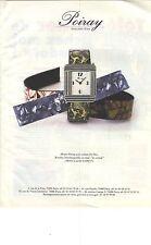"""PUBLICITE ADVERTISING 1989    POIRAY montre """"les virtuels"""""""