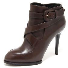 80467 tronchetto TOD'S GOMMA T110 SI FIBBIA scarpa stivale donna boots shoes wom