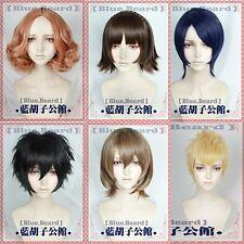 Persona 5 Haru Okumura Goro Akechi Ryuji Sakamoto Short Cosplay costume wig