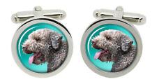 Lagotto Romagnolo Dog Cufflinks in Chrome Box