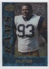 1995 Bowman's Best #6 Kevin Carter St. Louis Rams Rookie Football Card