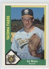 1990 CMC AAA/ProCards A & AA Packs Base 588 Ed Wojna Tacoma Tigers Baseball Card