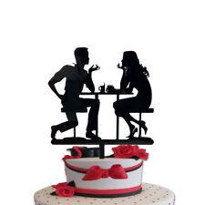 CAKE TOPPER centrale in plexiglass personalizzato per torte festa compleanno