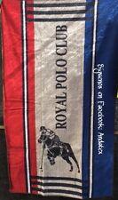 Toalla de Playa algodón egipcio Royal Polo Club 95 x 175 cm