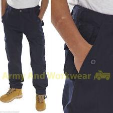 Haga clic en el combate de carga de trabajo Pantalones Pantalones Para Hombre 6 Bolsillo Clips Ajustables Militar