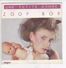 BOX Zoof Vinyl 45 tours UNE PETITE BOMBE Poupée Bébé Baigneur VOGUE 101910 RARE