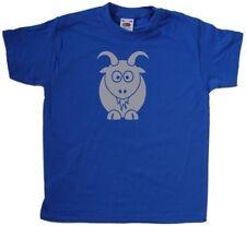 Cartoon Goat Kids T-Shirt