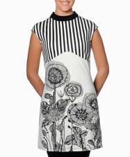 Smash Barcelona s-xxl royaume-uni 10-18 rrp? 41.50 jacinto robe noir & blanc 1960s