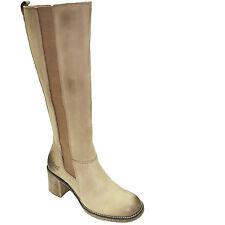 KICKERS KILFO bottes femme cuir nubuck beige vieilli taille 37