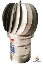 Chimney Flue Cowl Spinner Stainless Steel Plug-in , many diameters   !!!