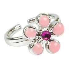 anello portafortuna con gioiello per bambina dimensione 1,5 cm.