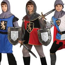 Ragazzi Cavaliere Medievale Costume St Georges RE ARTU 'Libro Settimana Costume Bambini