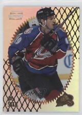 1996-97 Pinnacle Summit Premium Stock 1 Joe Sakic Colorado Avalanche Hockey Card