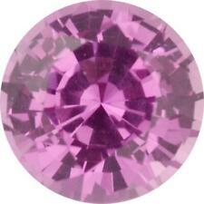 Natural Fine Rich Pink Sapphire - Round - Sri Lanka - Top Grade