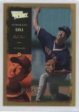 2000 Ultimate Victory Collection #28 Tomokazu Ohka Boston Red Sox Baseball Card