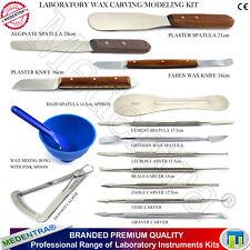 Dental Wax Carving Strumenti CERETTA Strumento KIT SPATOLE-intagliatori-COLTELLI di miscelazione