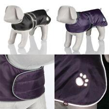 TRIXIE ORLEANS DOG COAT BLACK PURPLE XS SMALL