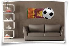 Wandbild  Sri Lanka Flagge Aufkleber Fahne Fußball Aufkleber Sport EM WM Pokal