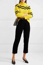 NWT £110 Designer J.CREW Cropped velvet straight-leg pants