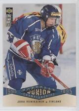 1995-96 Upper Deck Collector's Choice #329 Juha Viinikainen Rookie Hockey Card