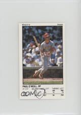1991 Panini Album Stickers #120 Paul O'Neill Cincinnati Reds Baseball Card