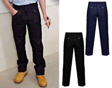 Nuevo Para hombres Pantalones Trabajo Cargo Combat Acción Adultos Pantalones Parte inferior bolsillos con cremallera 30-50
