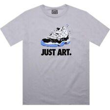 $40 Retro 11 XI air Jordan Concord graffiti Just art shirt(silver)
