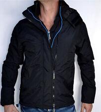 Superdry - TECHNICAL IMPACT WINDCHEATER - Hooded Jacket - Windbreaker - Black