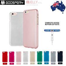 Mercury Goospery Color Metalic Matte Jelly Gel  Back Slim Case For iPhone5/5s/SE