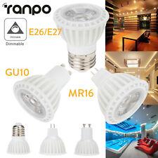 LED Spot Light Bulbs Dimmable 15W E27 GU10 MR16 220V 12V Ultra Bright Home Lamp