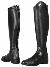 Tuffrider Belmont Dress Riding Boots Supple Leather Ladies Rear Zipper