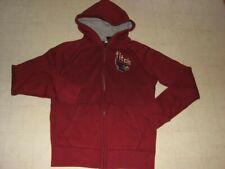 ABERCROMBIE Kids Hoodie Zip Jacket Brick Red  Sz L/XL - NWT $49.50