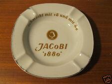 Aschenbecher JACOBI 1880 Ascher Weinbrand Schwarzenhammer Porzellan gebr.