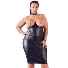 "Sexy Damen Minikeild L XL 2XL 3XL 4XL Kleid Elegant Brust frei Cup-Bügel ""Nesima"