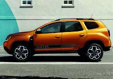 DUSTER Renault & Dacia 2x side stripes body decal vinyl graphics sticker logo