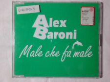 ALEX BARONI Male che fa male cd singolo PR0M0