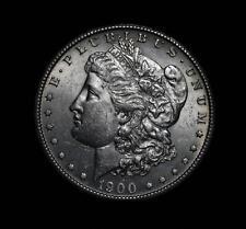 Scarse CHOICE 1900-S Morgan Silver Dollar $1 PQ COIN