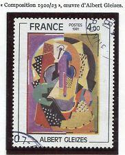 STAMP / TIMBRE FRANCE OBLITERE N° 2137 TABLEAU GLEIZES