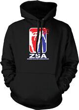 ZSA Zombie Slayer Association Headshot Shotgun Horror Hoodie Pullover